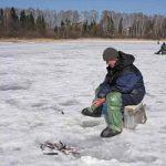 «Рыбачьте с нами» — Поиск рыбы весной подо льдом